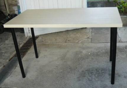 Ikea Birch Beach Computer Table Study Desk Very Good Condition