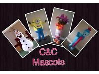 Mascot hire only £25