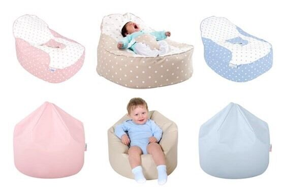 Bambeano Baby Bean Bag BLUE Comes Also With My First Cover