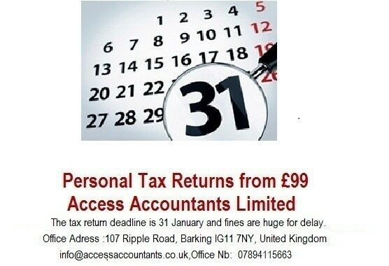 Tax Returns Specialist Qualified Chartered Certified Accountants with Affordable Prices