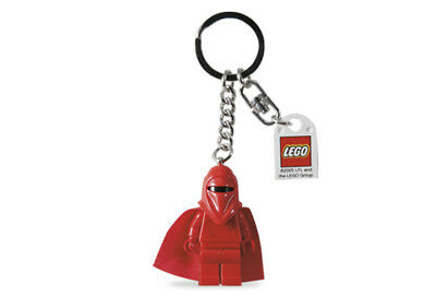 Lego Red Imperial ROYAL GUARD Key Chain Keychain Star Wars xmas gift