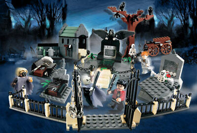 Lego 4766 Harry Potter GRAVEYARD DUEL New Parts, Stickers, & Instructions NO Box