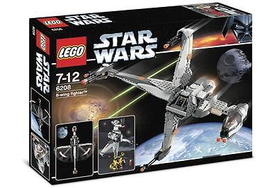 Lego 6208 Star Wars B-wing Fighter ** Sealed Box ** Rebel Pilot Ten Numb