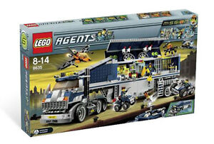 Lego Agents Mobile Command Center (8635) BRAND NEW RETIRED