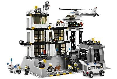 Lego 7237 City Town POLICE STATION Complete w/Instructions