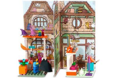 Lego 4723 Harry Potter DIAGON ALLEY SHOPS New Parts, Backdrop, & Instructions
