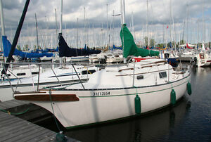 Voilier/Sailboat Bayfield 25' excellent condition mint condition