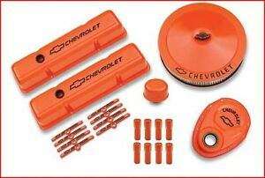 Chevy Orange Deluxe Dress-Up Kit Chevy Small Block