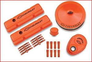 Proform - Chevy Orange Deluxe Dress-Up Kit Chevy Small Block