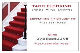 Carpets vinyls laminates
