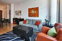 $1400 Beautiful Furnished Montreal Old Port Condo