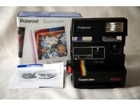 Polaroid Camera Supercolor 635CL with Film