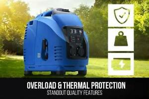 Generator 3.5kva Mickey Blu remote control, ideal for caravans Melrose Park Mitcham Area Preview