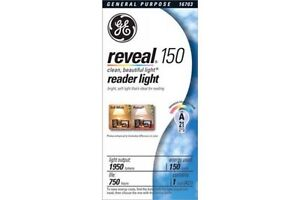 GE Reveal 150 Watt Lightbulbs (20 cases) - Valued at $4800.00