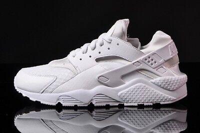 Nike Air Huarache Triple White Pure Platinum QS 318429-111 Men Youth GS size