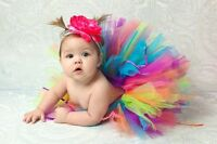 TUTU SKIRTS, ALL HANDMADE, FOR BABY GIRLS 0-24 MONTHS