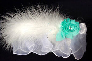 Wedding Feather Garter - Brand New in Packaging!