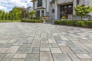 Stone work. Landscaping.