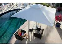new large garden parasol