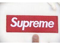 Supreme box logo hoodies