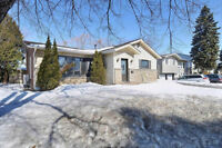 Split level house for rent/sale west island