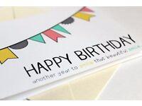 (QUICK SERVICE) Birthday/Wedding Poster Design