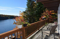 EARLY BIRD SPECIAL!!! LAKE FRONT COTTAGE AVAILABLE YEAR ROUND