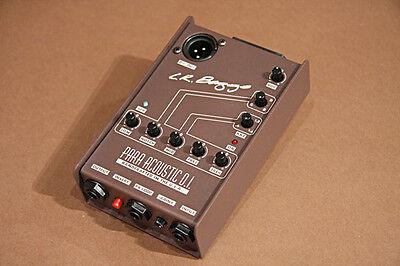 LR Baggs Para Acoustic DI Guitar Preamp Pedal NEW