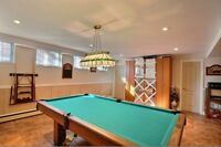 POOL TABLE WITH ALL ACCESSORIES AND EQUIPMENT INCLUDED