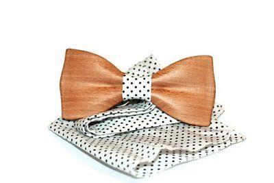 Männer Junge Holz Mode Bowtie Schmetterling Formale Holz Fliege Kostüm (Schmetterling Kostüm Männer)