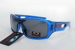 Oakley Eyepatch 2 Sunglasses Crystal Blue Frame Black Lens
