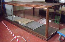 Vintage Shop Display Cabinet / Counter