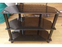 TV/video/satellite box storage unit