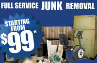 CHEAP AFFORDABLE JUNK REMOVAL CALL SAM 416 458-2866