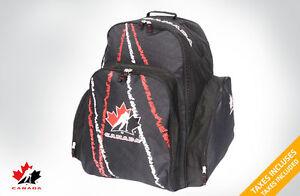 team canada rolling hockey bag
