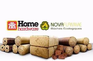 Palette Mixtes de Bûches Écologiques Novaflamme