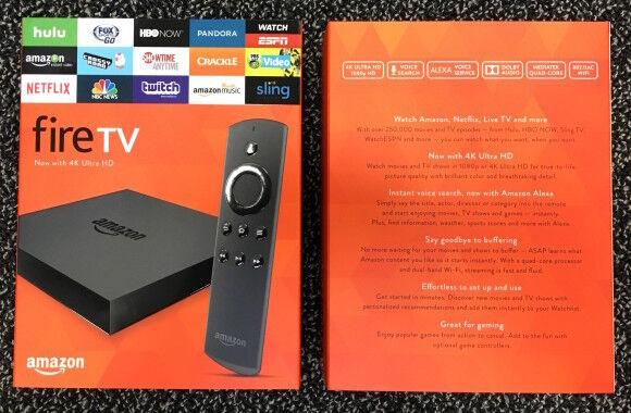 Amazon Fire Tv 4k Version Includes Box Amp Accessories