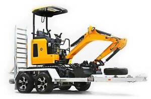 NEW Plant Trailer 2.8T GVM: Excavators, Bobcats, Skid Steers Welshpool Canning Area Preview