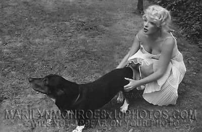 Marilyn Monroe Moments Intime Series   Rare Original Limited Edition Photo Mm