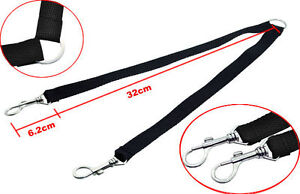DOUBLE DOG LEAD FOR 2 DOGS 2 WAY COUPLER LEASH DUPLEX WALKING DOUBLE ENDED UK