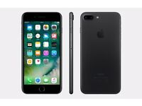 Brand New Iphone 7 PLus 32GB Black, Unlocked to All Network