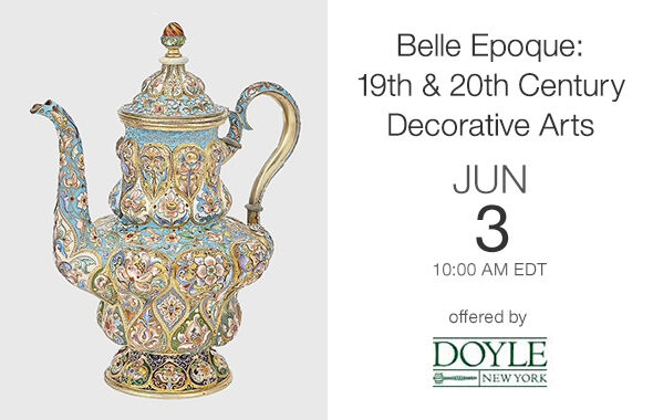 Belle Epoque: 19th & 20th Century Decorative Art