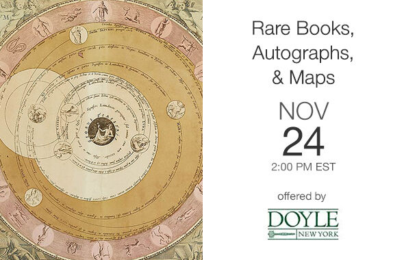 Rare Books, Autographs, & Maps