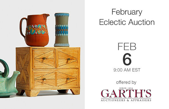 February Eclectic Auction
