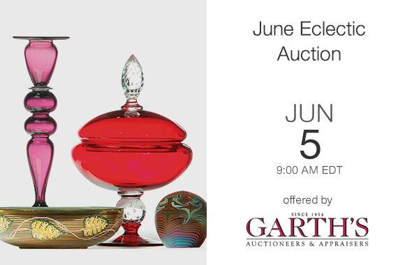 June Eclectic Auction