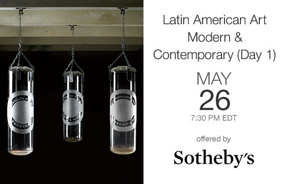 Latin American Art Modern & Contemporary (Day 1)