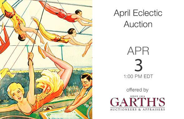 April Eclectic Auction