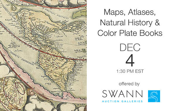 Maps, Atlases, Natural History & Color Plate Books