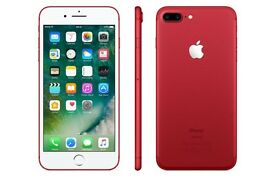I phone 7 plus red special edition 128 gb