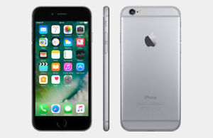 LIKE NEW ALL IPHONE 6 BLACK OR WHITE